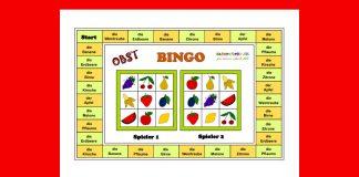 Bingo - obst